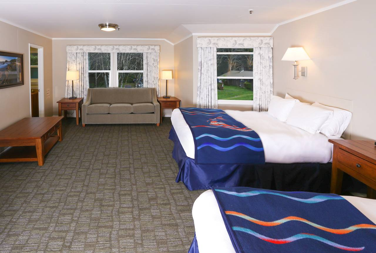 Reserve a Kalaloch Lodge room for comfort and convenience.