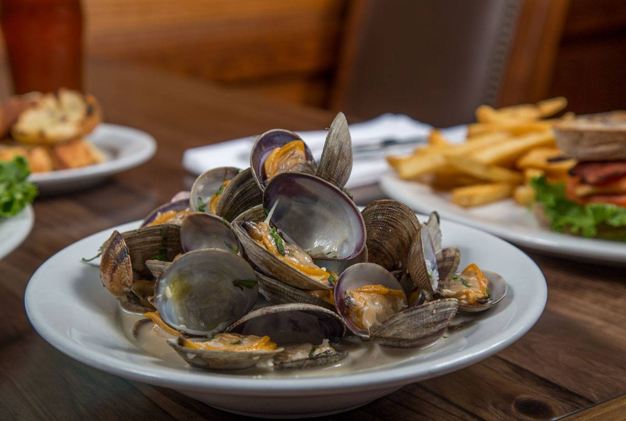 At Kalaloch Lodge, Creekside Restaurant's menus feature a wide range of delicious local fare. Don't forget to try the clams!