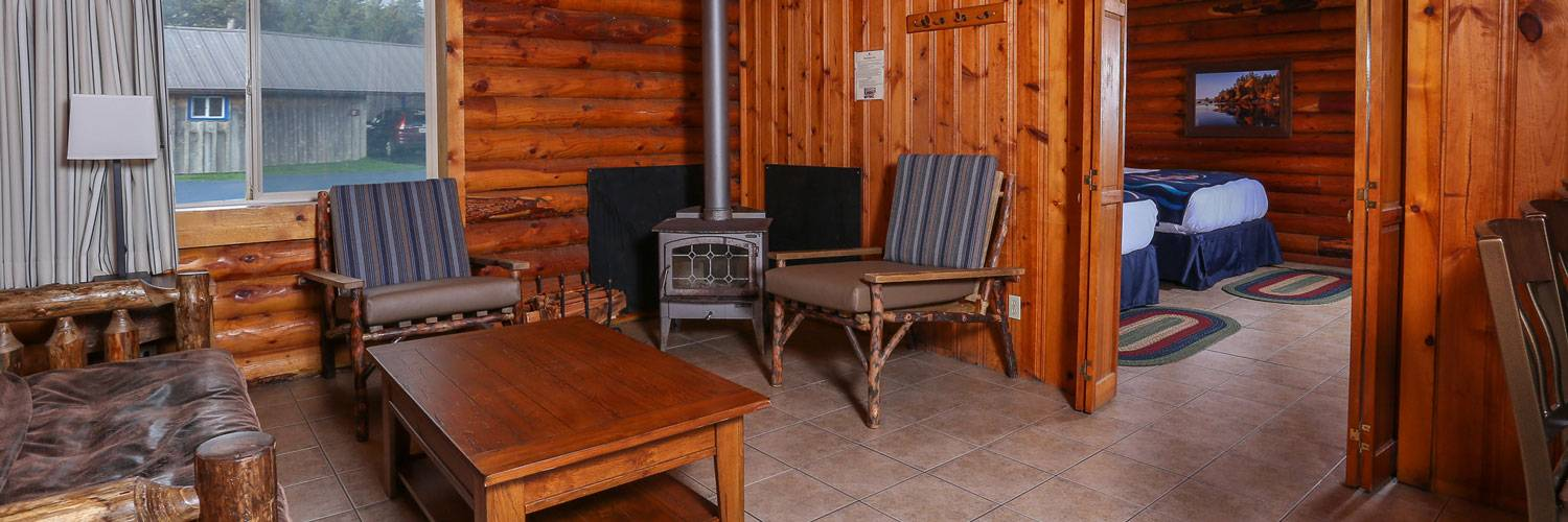 Kalaloch Cabin interiors have ADA Features to make them accessible for a range of guests.