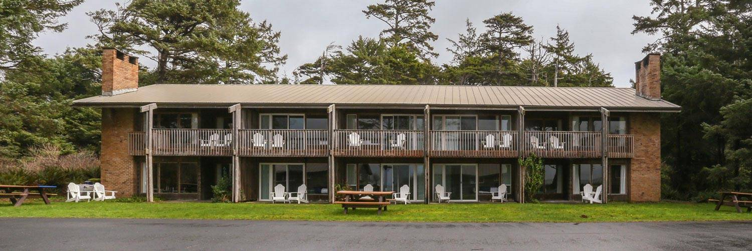 Seacrest House exterior images show off the balconies facing the ocean.