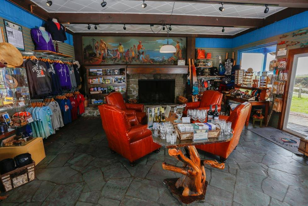 Buy the perfect gift or souvenir at the Gift Shop at Kalaloch Lodge.