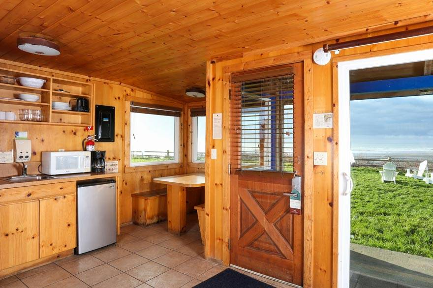 Cabin packages at Kalaloch Lodge.