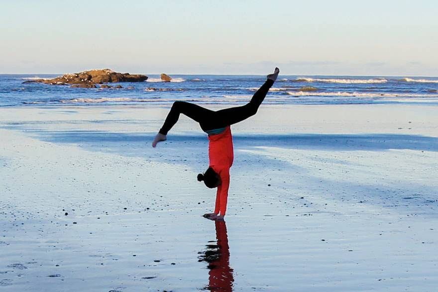 Kalaloch Lodge yoga wellness package